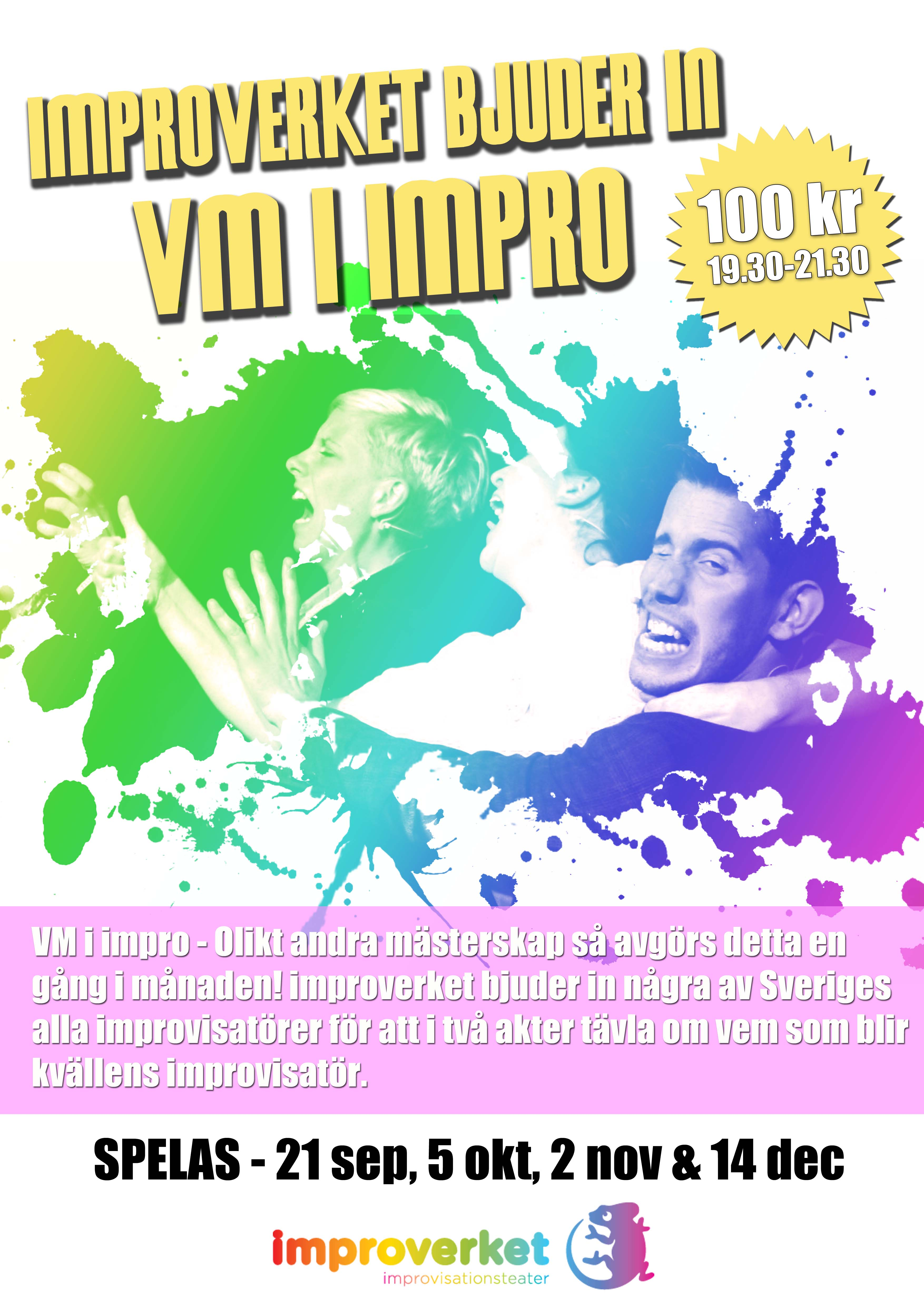 Improverket bjuder in - VM i impro!