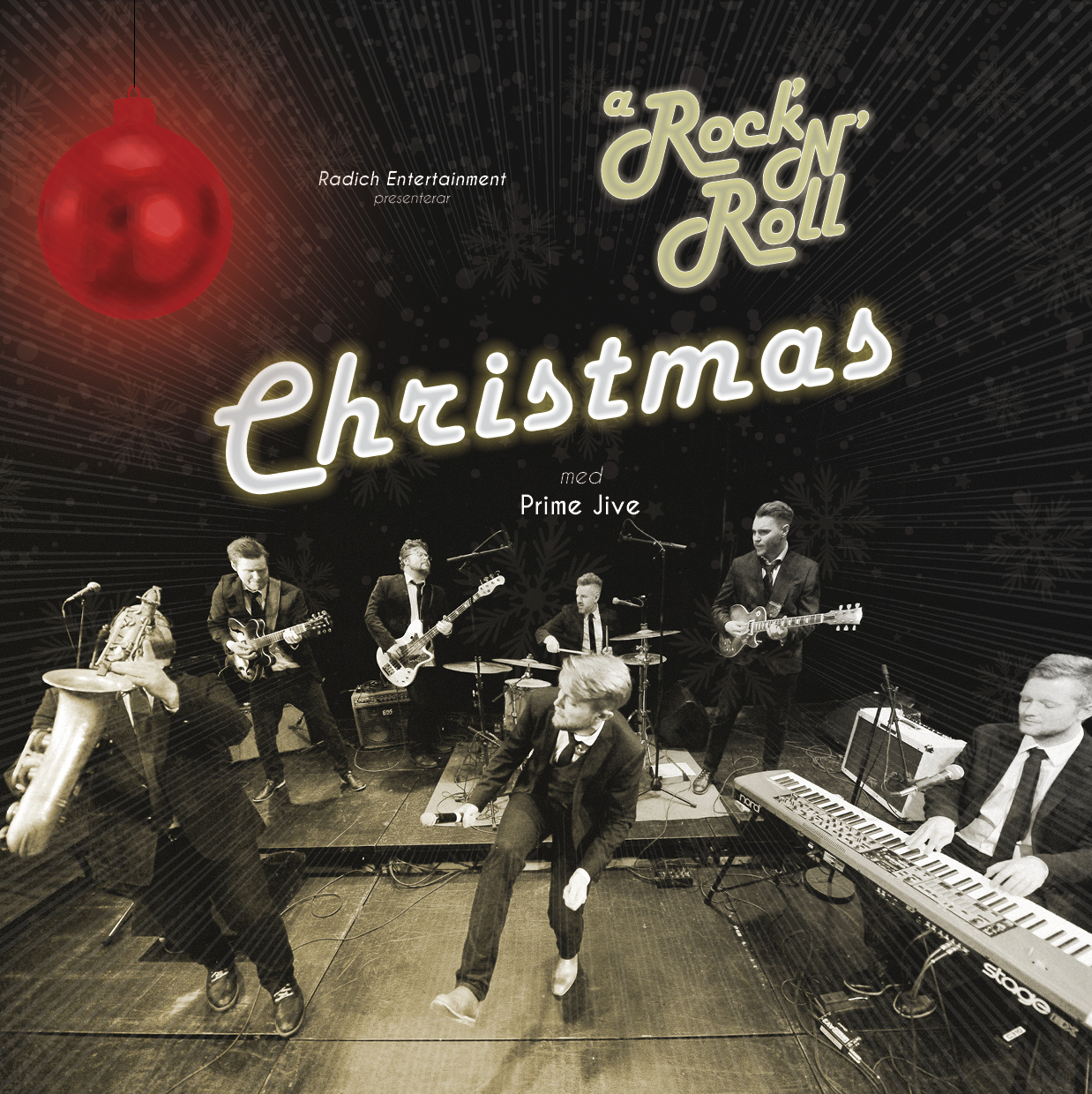 A Rock 'N' Roll Christmas med Prime Jive