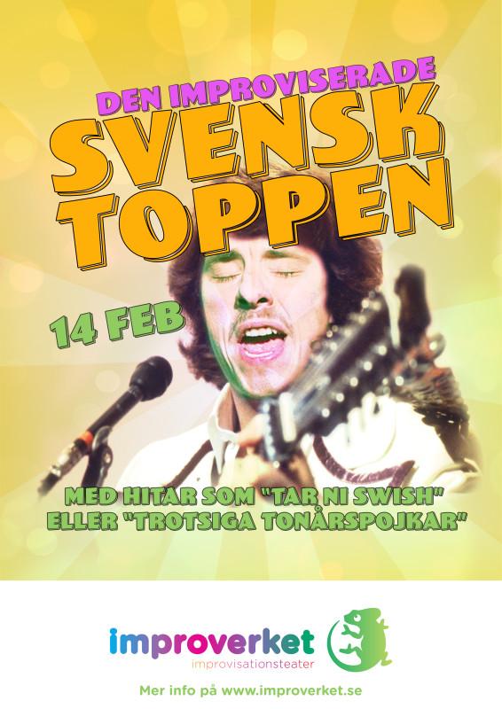 Den improviserade svensktoppen