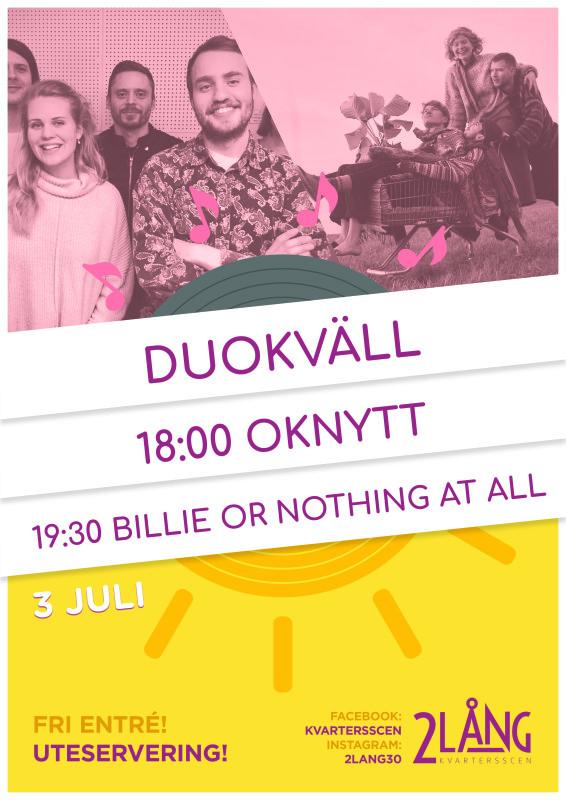 Sommar på 2lång - Duokväll 3/7